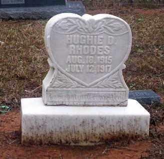 RHODES, HUGHIE D - Ouachita County, Arkansas   HUGHIE D RHODES - Arkansas Gravestone Photos