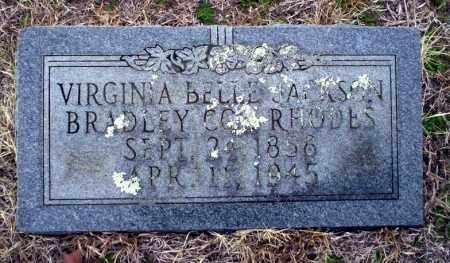 RHODES, VIRGINIA BELLE - Ouachita County, Arkansas | VIRGINIA BELLE RHODES - Arkansas Gravestone Photos