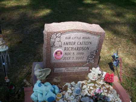 RICHARDSON, AMBER CAITLYN - Ouachita County, Arkansas | AMBER CAITLYN RICHARDSON - Arkansas Gravestone Photos