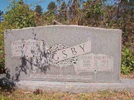 RIGSBY, JOSEPH BROOKLYN - Ouachita County, Arkansas | JOSEPH BROOKLYN RIGSBY - Arkansas Gravestone Photos
