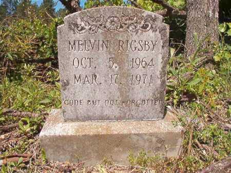 RIGSBY, MELVIN - Ouachita County, Arkansas | MELVIN RIGSBY - Arkansas Gravestone Photos