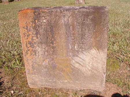 RIGSBY, SAMUEL - Ouachita County, Arkansas   SAMUEL RIGSBY - Arkansas Gravestone Photos