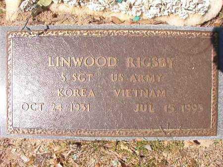 RIGSBY (VETERAN 2 WARS), LINWOOD - Ouachita County, Arkansas | LINWOOD RIGSBY (VETERAN 2 WARS) - Arkansas Gravestone Photos