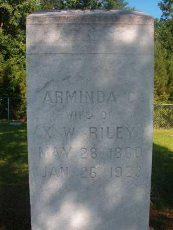 RILEY, ARMINDA C - Ouachita County, Arkansas | ARMINDA C RILEY - Arkansas Gravestone Photos