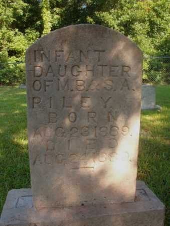 RILEY, INFANT DAUGHTER - Ouachita County, Arkansas | INFANT DAUGHTER RILEY - Arkansas Gravestone Photos