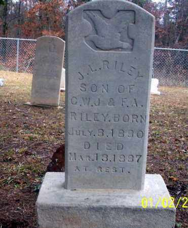 RILEY, J.L. - Ouachita County, Arkansas | J.L. RILEY - Arkansas Gravestone Photos