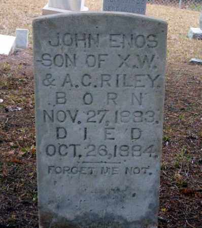 RILEY, JOHN ENOS - Ouachita County, Arkansas | JOHN ENOS RILEY - Arkansas Gravestone Photos