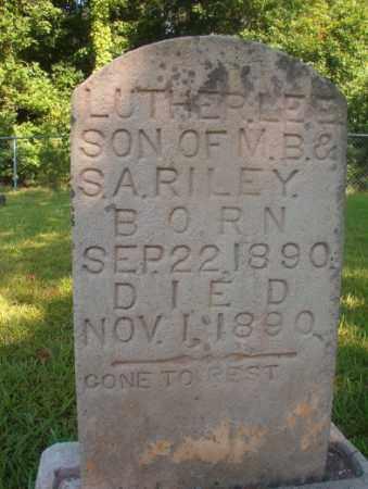 RILEY, LUTHER LEE - Ouachita County, Arkansas | LUTHER LEE RILEY - Arkansas Gravestone Photos