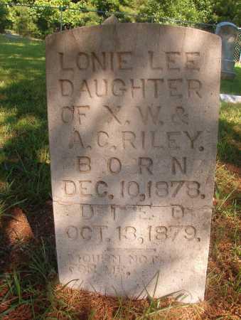 RILEY, LONIE LEE - Ouachita County, Arkansas   LONIE LEE RILEY - Arkansas Gravestone Photos