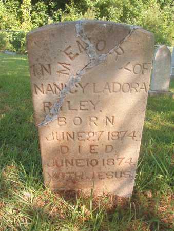 RILEY, NANCY LADORA - Ouachita County, Arkansas | NANCY LADORA RILEY - Arkansas Gravestone Photos