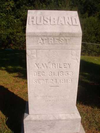 RILEY, X W - Ouachita County, Arkansas | X W RILEY - Arkansas Gravestone Photos