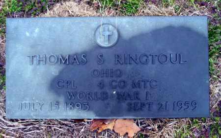 RINGTOUL  (VETERAN WWI), THOMAS S - Ouachita County, Arkansas | THOMAS S RINGTOUL  (VETERAN WWI) - Arkansas Gravestone Photos
