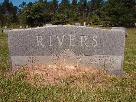 RIVERS, MARY JEAN - Ouachita County, Arkansas | MARY JEAN RIVERS - Arkansas Gravestone Photos