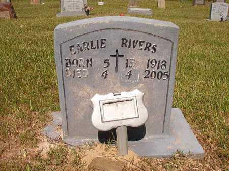 RIVERS, EARLIE - Ouachita County, Arkansas | EARLIE RIVERS - Arkansas Gravestone Photos