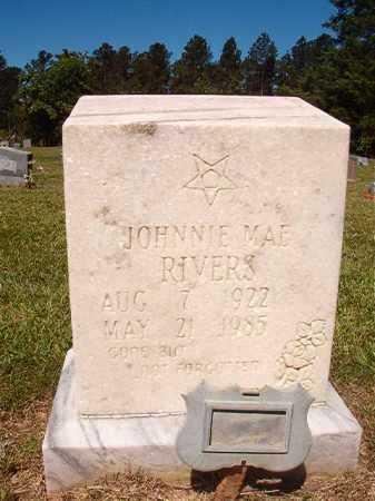 RIVERS, JOHNNIE MAE - Ouachita County, Arkansas   JOHNNIE MAE RIVERS - Arkansas Gravestone Photos