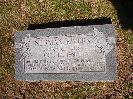 RIVERS, NORMAN - Ouachita County, Arkansas | NORMAN RIVERS - Arkansas Gravestone Photos