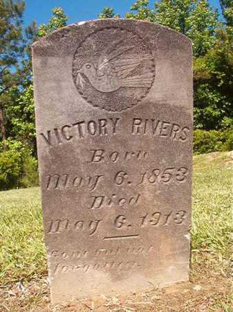 RIVERS, VICTORY - Ouachita County, Arkansas   VICTORY RIVERS - Arkansas Gravestone Photos