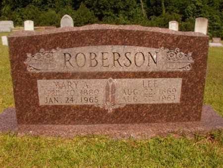 ROBERSON, LEE - Ouachita County, Arkansas   LEE ROBERSON - Arkansas Gravestone Photos