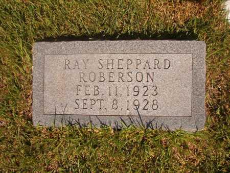 ROBERSON, RAY SHEPPARD - Ouachita County, Arkansas | RAY SHEPPARD ROBERSON - Arkansas Gravestone Photos