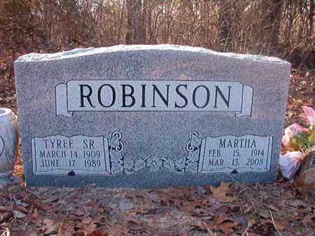 ROBINSON, SR, TYREE - Ouachita County, Arkansas | TYREE ROBINSON, SR - Arkansas Gravestone Photos