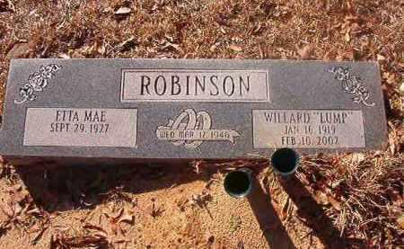 "ROBINSON, WILLARD ""LUMP"" - Ouachita County, Arkansas | WILLARD ""LUMP"" ROBINSON - Arkansas Gravestone Photos"