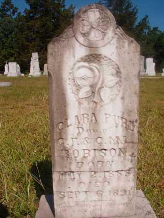 ROBISON, CLARA PURL - Ouachita County, Arkansas   CLARA PURL ROBISON - Arkansas Gravestone Photos