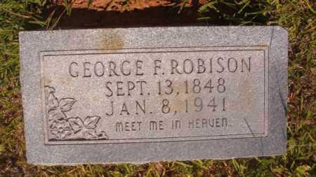 ROBISON, GEORGE F - Ouachita County, Arkansas | GEORGE F ROBISON - Arkansas Gravestone Photos