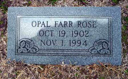 ROSE, OPAL - Ouachita County, Arkansas | OPAL ROSE - Arkansas Gravestone Photos