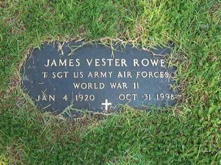 ROWE (VETERAN WWII ), JAMES VESTER - Ouachita County, Arkansas | JAMES VESTER ROWE (VETERAN WWII ) - Arkansas Gravestone Photos