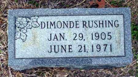 RUSHING, DIMONDE - Ouachita County, Arkansas | DIMONDE RUSHING - Arkansas Gravestone Photos