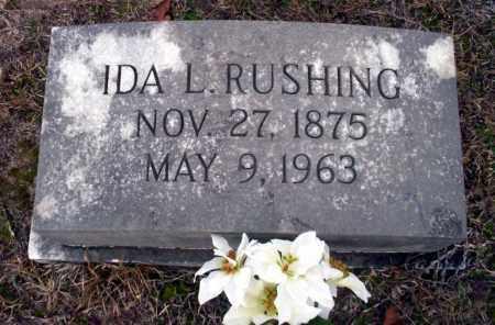 RUSHING, IDA L - Ouachita County, Arkansas | IDA L RUSHING - Arkansas Gravestone Photos