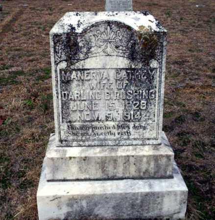CATHEY RUSHING, MANERVA - Ouachita County, Arkansas | MANERVA CATHEY RUSHING - Arkansas Gravestone Photos