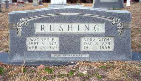 RUSHING, NORA - Ouachita County, Arkansas | NORA RUSHING - Arkansas Gravestone Photos