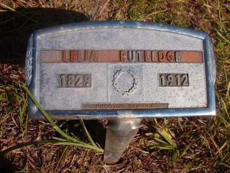 RUTLEDGE, LELIA - Ouachita County, Arkansas | LELIA RUTLEDGE - Arkansas Gravestone Photos