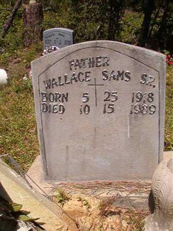 SAMS, SR, WALLACE - Ouachita County, Arkansas | WALLACE SAMS, SR - Arkansas Gravestone Photos