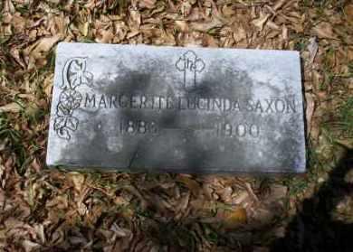 SAXON, MARGERITE LUCINDA - Ouachita County, Arkansas | MARGERITE LUCINDA SAXON - Arkansas Gravestone Photos