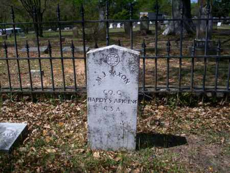SAXON (VETERAN CSA), M J - Ouachita County, Arkansas   M J SAXON (VETERAN CSA) - Arkansas Gravestone Photos