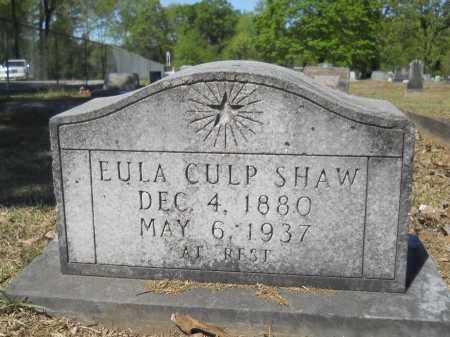 SHAW, EULA - Ouachita County, Arkansas | EULA SHAW - Arkansas Gravestone Photos