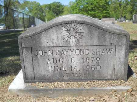 SHAW, JOHN RAYMOND - Ouachita County, Arkansas | JOHN RAYMOND SHAW - Arkansas Gravestone Photos