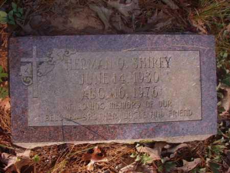 SHIREY, HERMAN O - Ouachita County, Arkansas   HERMAN O SHIREY - Arkansas Gravestone Photos