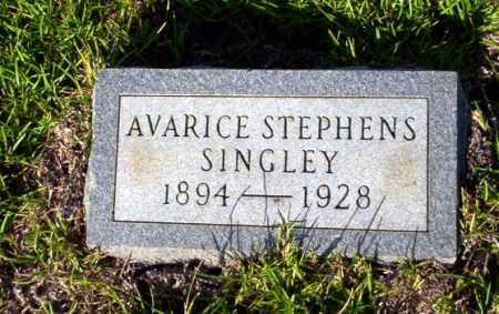SINGLEY, AVARICE - Ouachita County, Arkansas   AVARICE SINGLEY - Arkansas Gravestone Photos