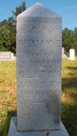 SLATON, WILLIAM E - Ouachita County, Arkansas | WILLIAM E SLATON - Arkansas Gravestone Photos