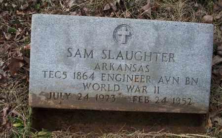 SLAUGHTER (VETERAN WWII), SAM - Ouachita County, Arkansas | SAM SLAUGHTER (VETERAN WWII) - Arkansas Gravestone Photos