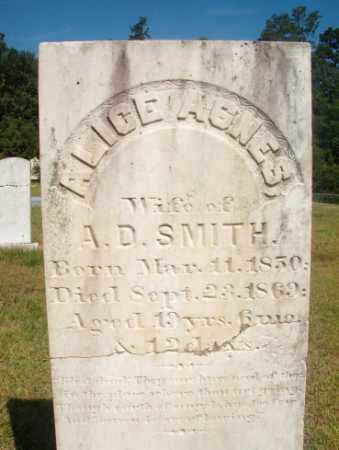 SMITH, ALICE AGNES - Ouachita County, Arkansas   ALICE AGNES SMITH - Arkansas Gravestone Photos