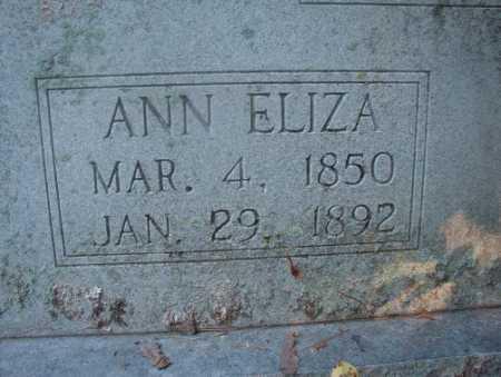 SMITH, ANN ELIZA - Ouachita County, Arkansas   ANN ELIZA SMITH - Arkansas Gravestone Photos