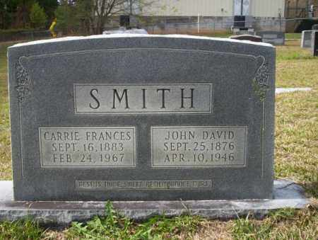SMITH, JOHN DAVID - Ouachita County, Arkansas | JOHN DAVID SMITH - Arkansas Gravestone Photos