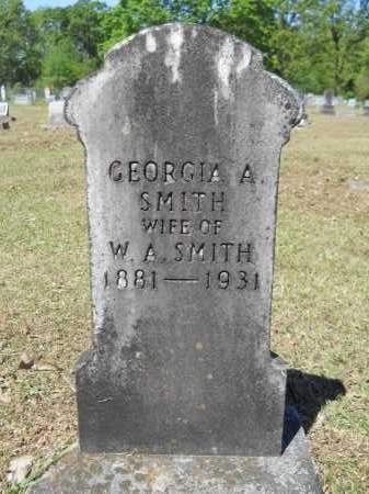 SMITH, GEORGIA A - Ouachita County, Arkansas   GEORGIA A SMITH - Arkansas Gravestone Photos