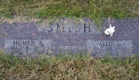 SMITH, ALLIE L - Ouachita County, Arkansas | ALLIE L SMITH - Arkansas Gravestone Photos