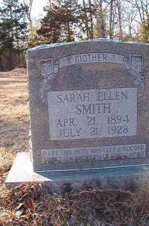 SMITH, SARAH ELLEN - Ouachita County, Arkansas   SARAH ELLEN SMITH - Arkansas Gravestone Photos