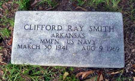 SMITH (VETERAN), CLIFFORD RAY - Ouachita County, Arkansas   CLIFFORD RAY SMITH (VETERAN) - Arkansas Gravestone Photos